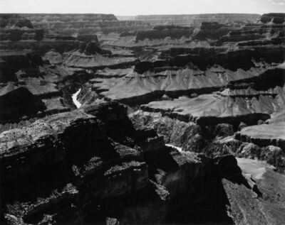 Ansel Adams, 'Grand Canyon National  Park, West from Mojave Point, Arizona', 1947