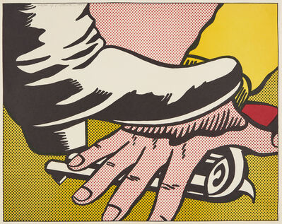 Roy Lichtenstein, 'Foot and Hand', 1964