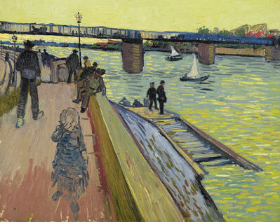 Vincent van Gogh, 'The Bridge at Trinquetaille', 1888