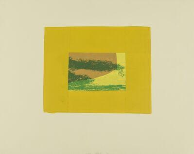 Howard Hodgkin, 'Indian View F (Heenk 16)', 1971