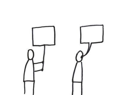 Dan Perjovschi, 'Resist Drawing 1', 2018