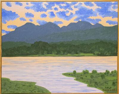 Bill Sullivan, 'The Catskills from Hudson At Twilight', 2004