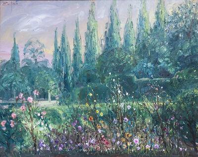 Bruno Zupan, 'Detail from Cartuja Garden', 2019