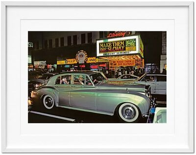 "Marvin E. Newman, 'Marvin E. Newman. Art Edition ""42nd Street, 1983""', 1983"