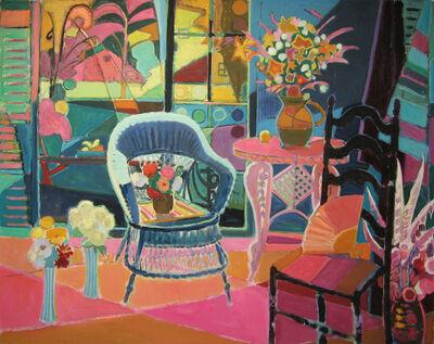 Joseph O'Sickey, 'Bouquets in Maine Studio'