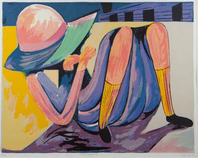 Charles Blackman, 'Hiding Schoolgirl', ca. 1989