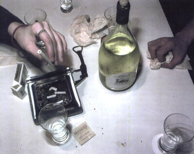 Lucien Samaha, 'After Dinner, Crosman Terrace, Rochester, NY,', 1991