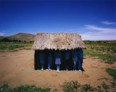 Scarlett Hooft  Graafland, 'Blue People', 2012