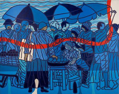 Ajarb Bernard Ategwa, 'Blue Evening', 2019