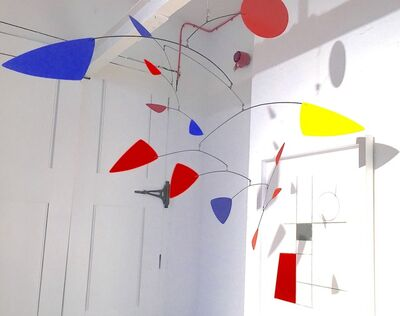Manuel Marin, 'Untitled (Red, yellow. blue hanging mobile)'