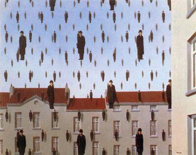René Magritte, 'Golconda', 2003
