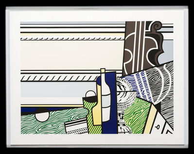 Roy Lichtenstein, 'Still life with crystal bowl', 1976