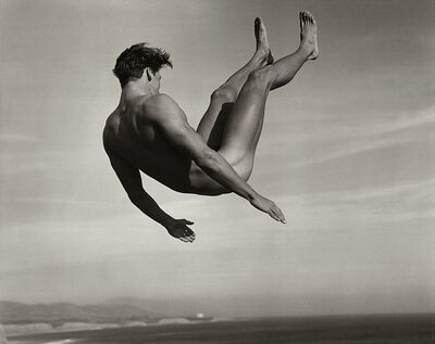 Bruce Weber, 'Rick Arango, Point Conception Beach, Santa Barbara', 1987