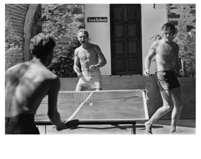Lawrence Schiller, 'Paul Newman & Robert Redford, Mexico, 1968, PG 24 ', 1968