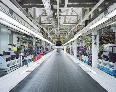 Edgar Martins, 'Assembly line BMW Group Plant Munich (Germany) from the 00:00.00', 2015