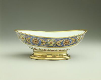 Imperial Porcelain Factory, 'Salad Bowl from the Gothic Service', 1890