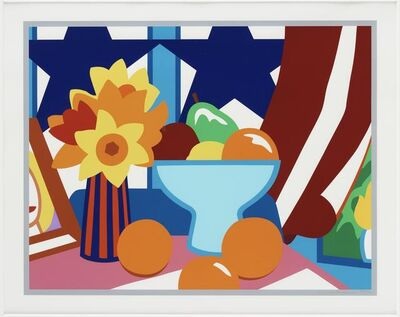 Tom Wesselmann, 'Still Life with Blowing Curtain (Red)', 1998