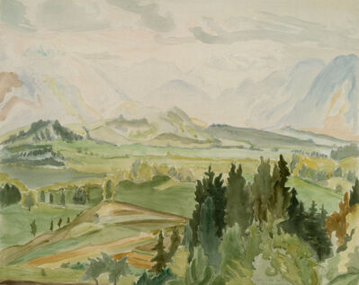 Erich Heckel, 'Sommer in Kärnten', 1941