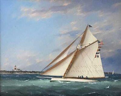 William R. Davis, 'Cutter off Sankaty Head Light', 2021