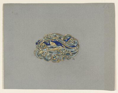 Eugène Samuel Grasset, 'Design for a Brooch', ca. 1900
