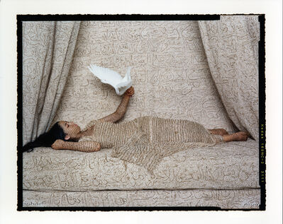 Lalla Essaydi, 'Les Femmes du Maroc: La Sultan', 2008