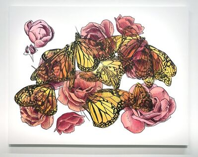 Mieke Marple, 'Eternal (Metamorphosis/Roses)', 2019
