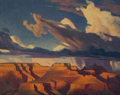 Ed Mell, 'Approaching Canyon Storm'