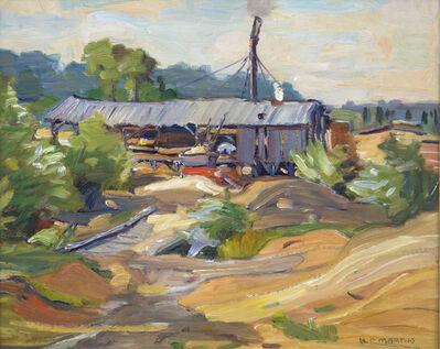 Bernice Fenwick Martin, 'Muskoka Lumber Mill'