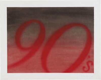 Ed Ruscha, 'The 1990s', 2000
