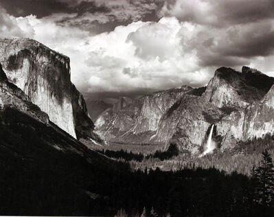 Ansel Adams, 'Thunderstorm, Yosemite Valley', 1945