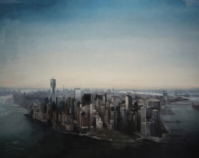 Kim Cogan, 'Manhattan from Above', 2018