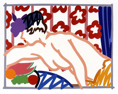 Tom Wesselmann, 'Judy Reaching Over Table', 1997