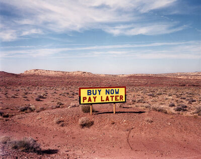 David Graham, 'Route 64, West of Route 89, AZ', 1986