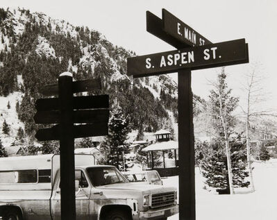 Andy Warhol, 'Andy Warhol, Photograph of Street Signs in Aspen, 1980s', 1980s