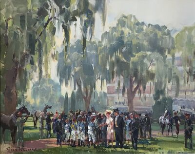 Peter Williams, 'Woodbine, Queens Plate Day', Contemporary