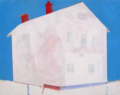 Amy Greenan, 'Red House, Blue Sky', 2014