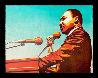 Ernesto Yerena, 'Martin Luther King HPM', 2021