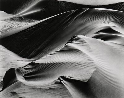 Brett Weston, 'Dunes, White Sands', 1946-printed 1989