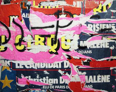 Jacques Villeglé, '2/8 rue Turbigo, February 1', 1977