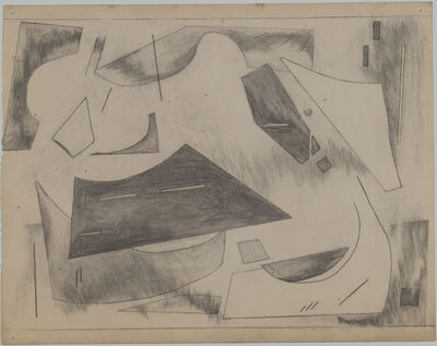 "Alice Trumbull Mason, 'Drawing for ""Colorstructive Abstraction""', 1944-1945"