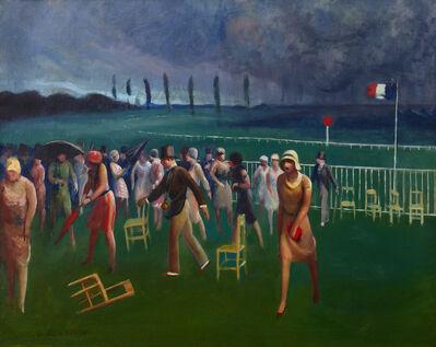 Guy Pène du Bois, 'Approaching Storm, Racetrack', 1929
