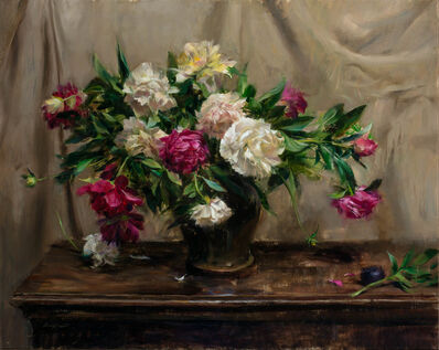 Quang Ho, 'Portrait of Peonies', 1991