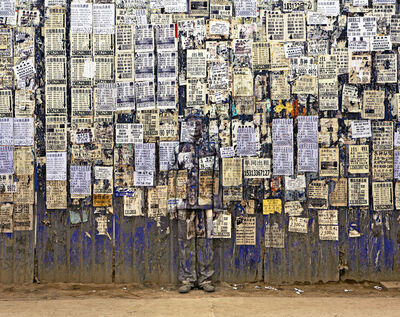 Liu Bolin, 'Hiding in the City - Info Wall', 2011
