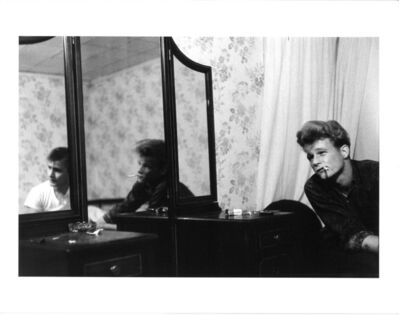 Larry Clark, 'Untitled (two men and mirror)', ca. 1970