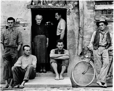 Paul Strand, 'The Family, Luzzara, Italy', 1953