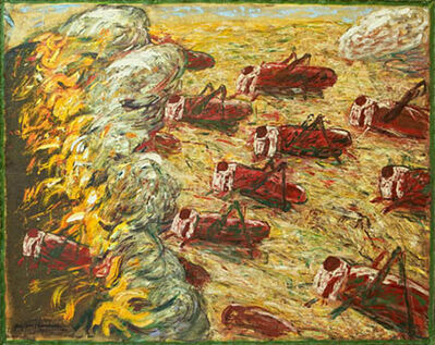 Gaylen Hansen, 'Burning Fields'