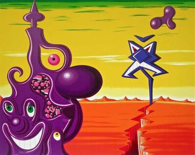 Kenny Scharf, 'Sajippe Kraka Joujesh', 1998