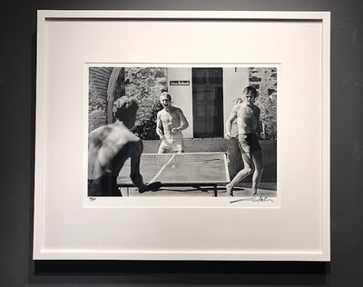 Lawrence Schiller, 'Paul Newman and Robert Redford, Ping-Pong, 1968', 1968