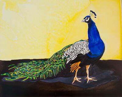 Annika Connor, 'Peacock Profile', 2010