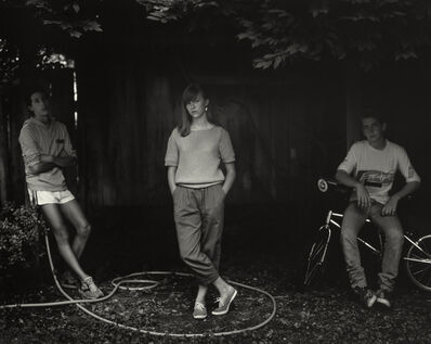 "Sally Mann, 'Untitled from the ""At Twelve"" Series, Rebecca and the Hose', 1983-1985"